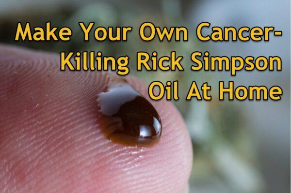 RSO Oil For Cancer