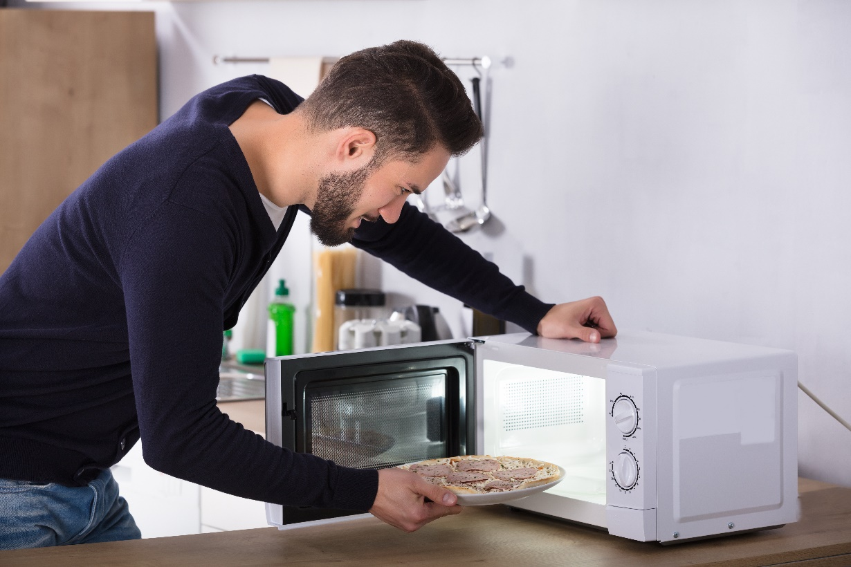 top three myths about microwaves