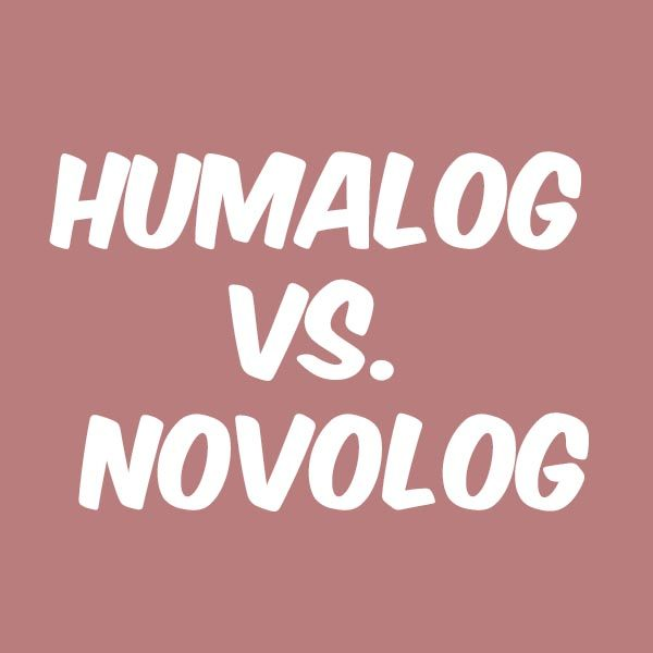 How Humalog and Novolog differ in side effects